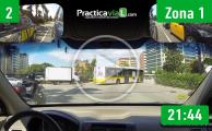 Recorrido De Examen Barcelona Zona 1 Gran Vía Y Zona Franca Practicavial