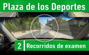 PLAZA LOS DEPORTES – Recorrido Segovia Practicavial