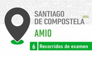 Recorrido De Examen Amio Santaigo De Compostela PracticaVial