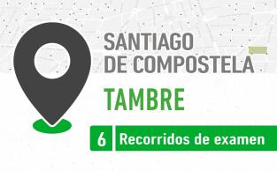 Recorrido De Examen Tambre Santaigo De Compostela PracticaVial