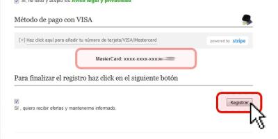 Pagar con Visa