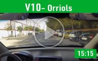 V10Orriols Recorrido De Examen Valencia PracticaVial