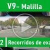 V9 Malilla Recorrido De Examen Valencia PracticaVial