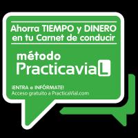 Distintivo servicio PracticaVial.com