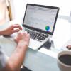 Portátil mostrando analítica web