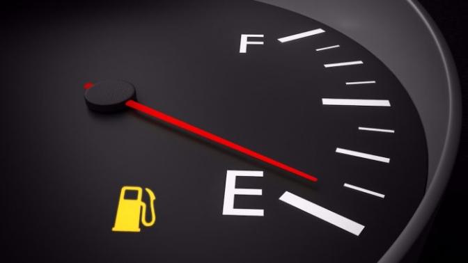 Reserva de combustible testigo