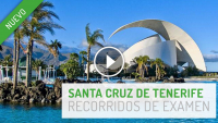 Zona de examen práctico Santa Cruz de Tenerife
