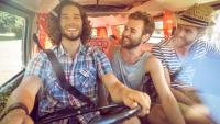 Amigos Inconformistas En Viaje Por Carretera 13339 224504
