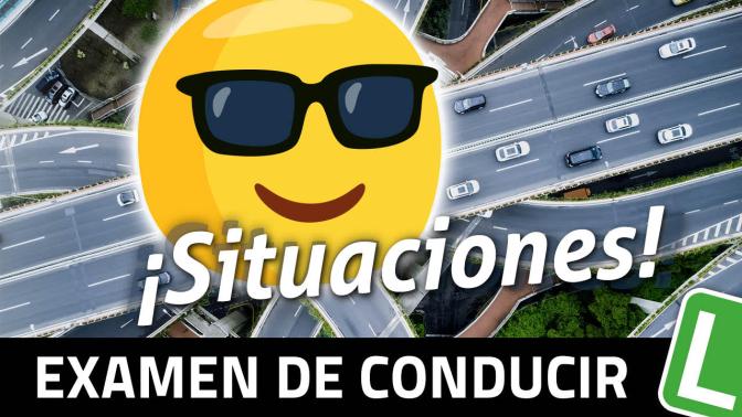 Poster Frame Examen Conducir