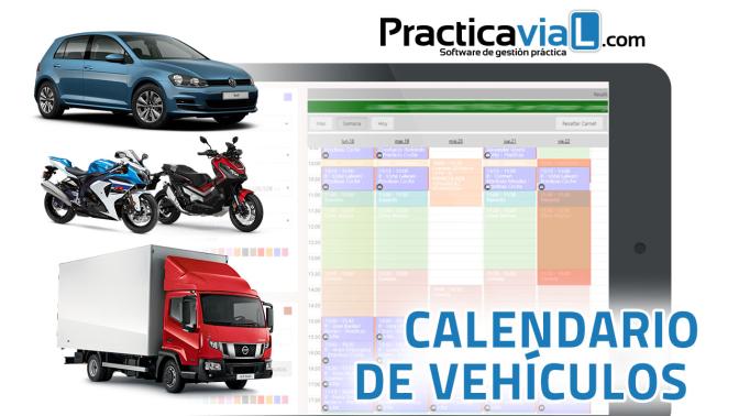 Calendario de vehículos
