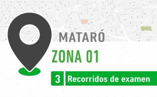 Recorrido De Examen ZONA 01 Mataró PracticaVial
