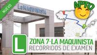 Zona examen La Maquinista