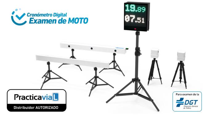 Cronometro Digital examen moto