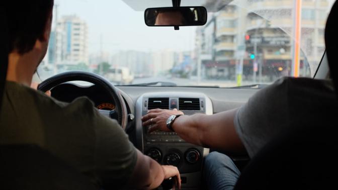 Examen de conducir en verano