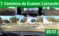 1. Comienzo De Examen Lanzarote PracticaVial