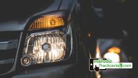 alumbrado coche y seguridad vial