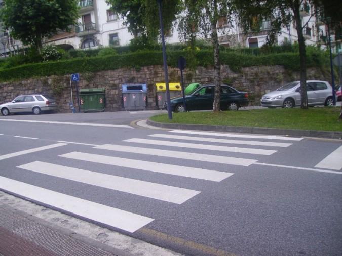 21.2 Pasos de peatones sin semáforos