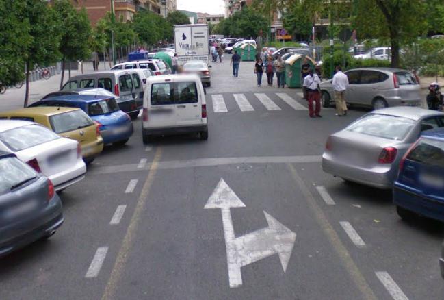 21.4 Paso de peatones sin visibilidad
