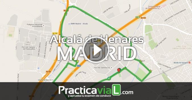 ¿Tienes que hacer tu examen de conducir en Alcalá de Henar…