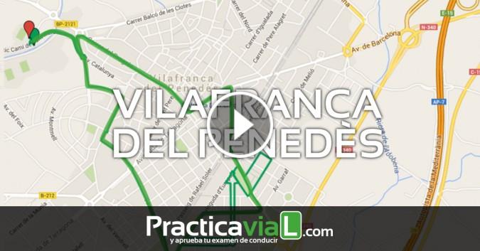 Examen de conducir en Vilafranca del Penedès
