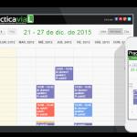 Calendario Digital de Prácticas + Exámenes