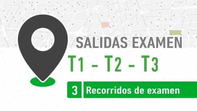 Salidas Examen T1, T2 y T3