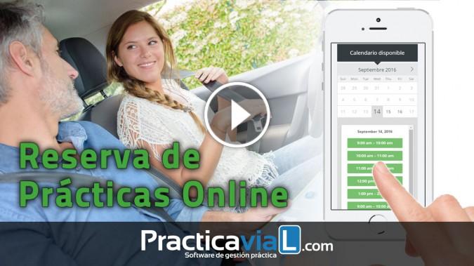 Compra y reserva de Prácticas Online para Autoescuelas