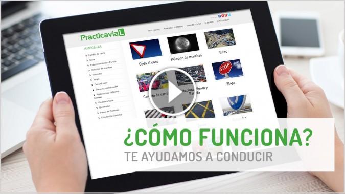 Método PracticaVial.com para tu examen de conducir.
