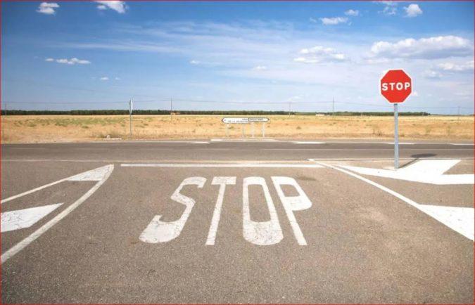 1 Circulación - STOP