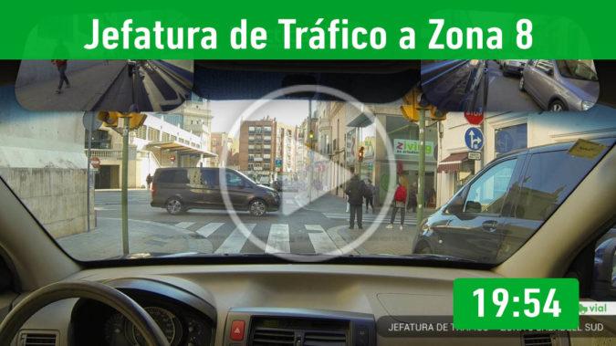 Recorrido 2.- Tráfico a Zona Sabadell Sud
