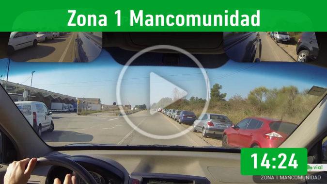 Recorrido 3.- Zona Mancomunidad