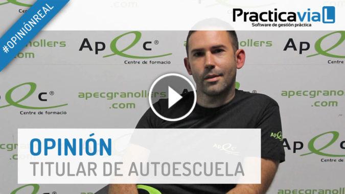 Roberto de Autoescuela Apec - Opinión PracticaVial