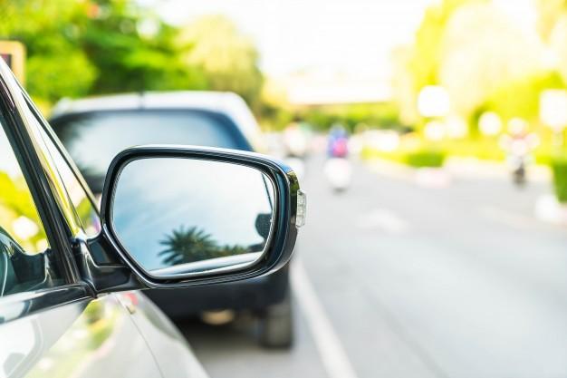 ¿Colocas bien los espejos del coche?