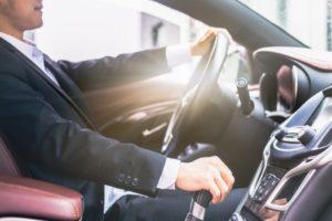 posicion al conducir