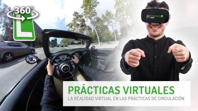 Prácticas de conducir Virtuales en 360º