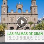 Estudia los recorridos del examen práctico de conducir en Las Palmas de Gran Canaria.