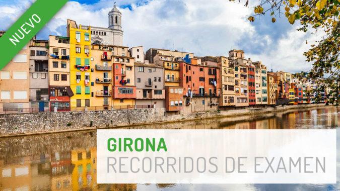 Presentamos nuevos recorridos en la zona de examen de Girona