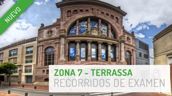 Nuevo recorrido de examen Zona 7 - Terrassa
