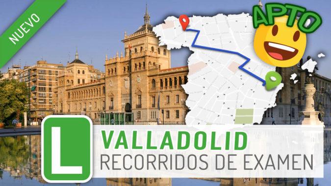 Tenemos nueva zona de examen: Valladolid