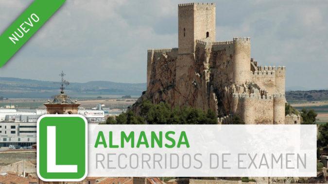 Almansa: nueva zona de examen de PracticaVial