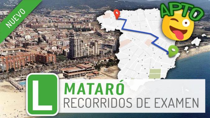 Tenemos nueva zona de examen: Mataró