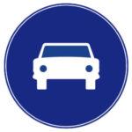Calzada para automóviles