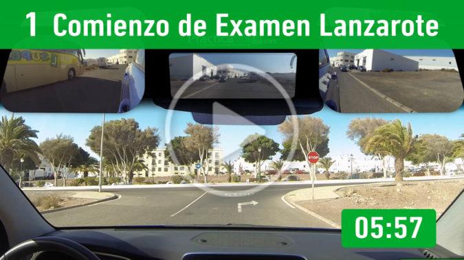 1.- Comienzo de Examen Lanzarote