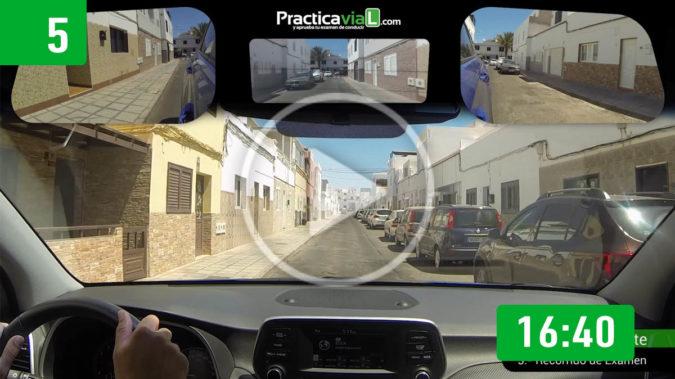 5.- Recorrido Examen Lanzarote