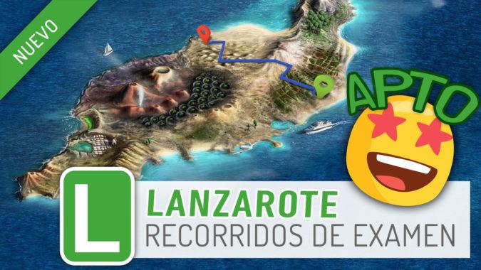 Lanzarote: nueva zona de examen en PracticaVial