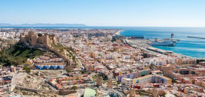 Almería - Recorridos de examen