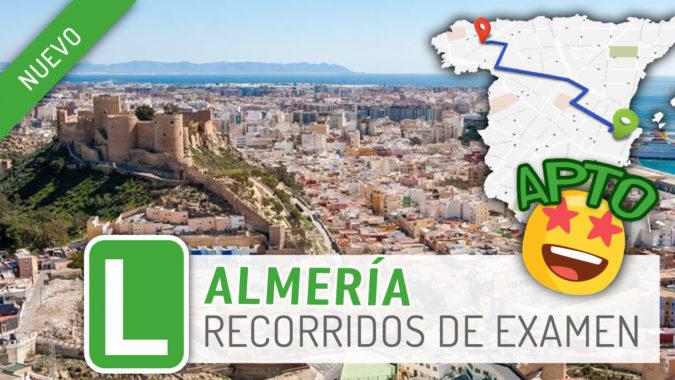 PracticaVial presenta nueva zona de examen: Almería