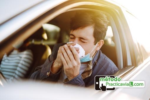 10 consejos para conducir si tienes alergia